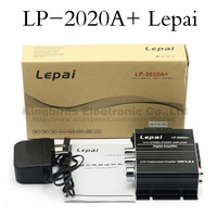 Free shipping with 12V3A power supply NEW Lepai LP-2020A+ Class-T Hi-Fi Audio Amplifier Output 20WX2 Stereo Amp IC TA2020-020