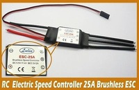 25A brushless ESC brushless Electric speed controller for RC Aircraft Muticopter