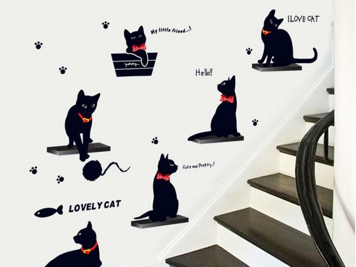 Acquista all'ingrosso Online cartoni animati gatto nero da Grossisti