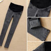 2014 new Maternity pants maternity trousers fashion maternity jeans skinny legging pants for pregnant women large size S-XXXL