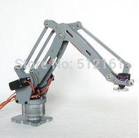 A full set of palletizing robot arm model   arduino robot arm  Robot manipulator hand