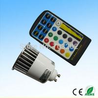 High Power 5W RGB LED Soptlight GU10