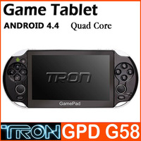"5"" Gamepad Game Tablet GPD G58 Joystick RK3188 Quad Core Android Game Console Console 1GB RAM 8GB ROM Android 4.4"