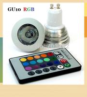 Hot sale GU10 3w rgb spotlight LED for christmas decoration