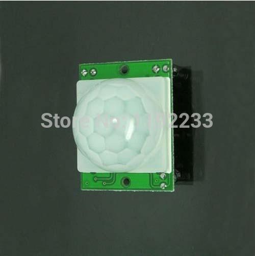 HC SR501 IR Detector Module PIR Sensor Security Infrared Pyroelectric Sensor Detector Module