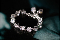 Fashion Gold-plated artificial gem Bohemia bracelet  for  women