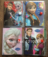 Free Shipping Frozen Notebook with a Pen In Stock DropShip Student Diary Frozen Elsa, Frozen Anna Book Student Notepad 11*7CM