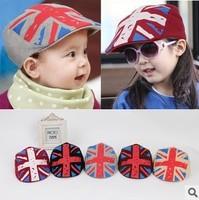 Children beret cap hat rice word children ( 4 colors ) 4508