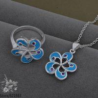 AS545 fashion jewelry set 925 sterling silver jewelry set /dazalsga fkraobya