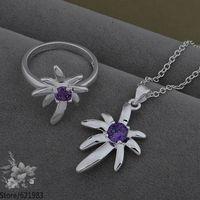 AS541 fashion jewelry set 925 sterling silver jewelry set /davalsca fknaobua