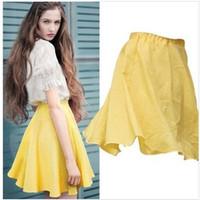 sheer skirts 2014 New jupe Summer saia Fashion tutu skater Skirt tulle Midi Skirts Female saias femininas faldas vestidos