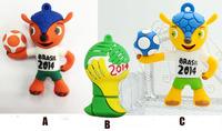 AC70  2014 Brazil World Cup team football Cartoon Animal model usb 2.0 memory flash card  pen drive disk 1G 4G 8GB 16GB 32GB