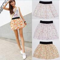 saia 2014 Summer New saias femininas Fashion Womens tulle Skater skirt High Quality  tutu Midi Skirts Female sheer skirts faldas