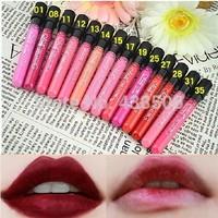36PCS/lot New 2014  Waterproof lipstick makeup 36 colors lipgloss velvet matte lipsticks wholesale 10g