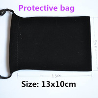 100pcs/lot Wholesale MP4 Protective Gift Bag Size 13x10cm for audio devices etc