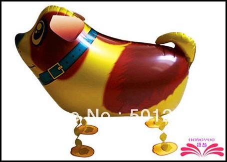 Free Shipping Dog pet balloon Walking animal walking pet balloons children toys(China (Mainland))