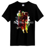 2014 High Quality dubstep Skrillex punk camisa men shirt hot brand casual fashion tshirt items mma High Quality skateboard