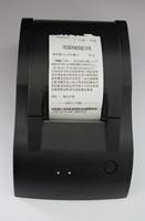 NEW! black USB Port 58mm thermal Receipt pirnter POS printer low noise.printer thermal
