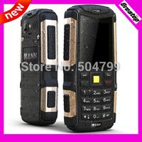 Outdoor old man phone Original MANN ZUG S Dual Sim Dual Standby big battery cool GSM phone+ Czech/polish language free shipping