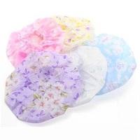 yp021 Free Shopping wholesale 10pcs new 2014 lovely  Environmental protection of the bath cap/Multicolor random shipment