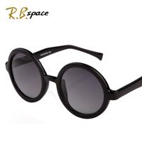 Fashion round box polarized sun glasses male Women 2014 sunglasses vintage sunglasses