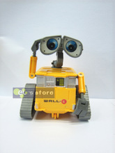 Free Shipping 2Piece Children's Gift Walle Robot Toy Car 12cm Wall-E Walle Robot I