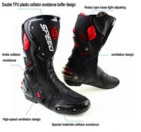 free shipping 2014 motorcycle boots Pro Biker SPEED Racing Boots,Motocross Boots,Motorbike boots 3colours
