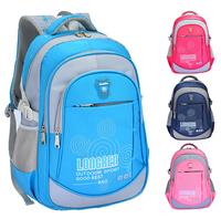 2014 new children orthopedic books bags,kinds school bag rucksack backpack for school boys girls nylon
