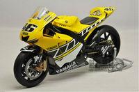1:12 Minichamps die cast motorcycle model YamahaYZR-M1 # 46 Moto GP 2005 Motorcycle Models