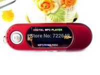 high quality 8GB MEMORY  AAA battery USB Digital mp3 Players /Voice recorder/ FM radio/ lcd screen 1PCS