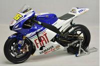 1:12 Minichamps Motorcycle Diecast Model Yamaha YZR-M1 MotoGP 2008 motorcycle model