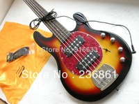 New style Arrival Music Man StingRay Ernie ball 5 string bass sunburst bass guitar electric lowest price best quality