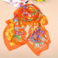 RADSS0015 2014 New Fashion autumn -summer silk Scarf women winter warm Tassel Scarf Wrap Shawl scarves Lovers 4 colors Retail