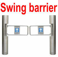 Free shipping Swing Gate Automatically Swing Barrier For Supermarket  Lowest Price Turnstile gate Professional manufactuctuer