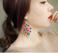Hot Selling New Arrival Fashion Women's Girl's Jewelery Exaggeration Folk Style Retro Earring!#98046