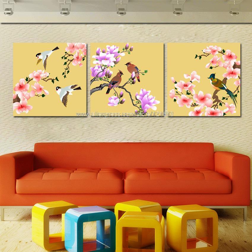 Online kopen wholesale cartoon vogel tekeningen uit china cartoon vogel tekeningen groothandel - Deco schilderij slaapkamer kind ...