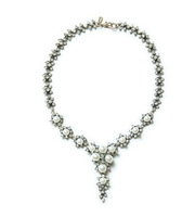 Summer 2014 new design fashion jewelry luxury pearl statement choker necklace for woman