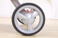 Wheel of Stokke baby stroller tyre real wheel front wheel