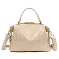 Free Shipping ( Apricot )  Colorful series split  Cow leather   Shoulder Bag,Handbag