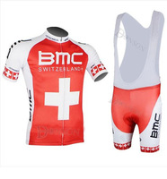 Free shipping lowest price 2014 Swiss Champion Edition 14BMC jersey short sleeve summer clothes riding bicycle clothing clothing