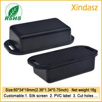 10pcs 60*34*19mm remote control plastic enclosure power plug plastic enclosure pcb plastic enclosures