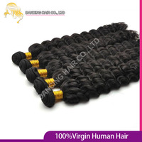 Rosa Hair Products Malaysian Deep Wave Curly 6a Star 4pcs/lot Mix Length 8-30'' 100% Cheap Natural Hair Extension Free Shipping