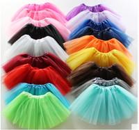Ballet child puff short skirt dance tutu gauze skirt costume