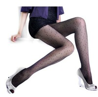 Sexy Ultrathin High Elastic Color Intrigue Bold Dot Tights 2014 New 6556