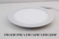 High quality 6w 2835 smd led ceiling light for hotal & home lighting AC85-265v led panel light white