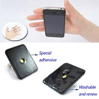 360 Degree Rotation 3D Ring Phone Tablet Stand Mount Holder for iPhone 4 4S Mobile Phone PDA Tablet PC