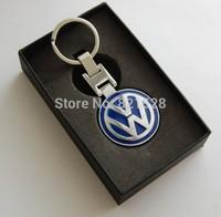New Auto 3D Car Logo  Metal Keychain  High quality for VW/ Jetta/ Bora/ CC/ Golf/  all car