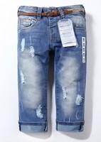 Retail 1pcs spring  autumn girls casual jeans pants fashion girls denim pants brand pants za8807