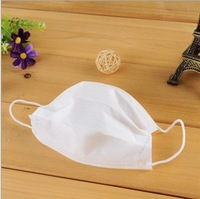 New Arrival Wholesale 300pcs/lot 3 Layer Non-woven Mouth Mask Protective Healthy Mouth Face Mask Disposable Respirator