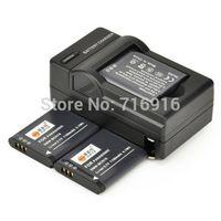 3PCS Full Coded DMW-BCN10 Battery + DC146 Charger for Panasonic DMC-LF1 Camera